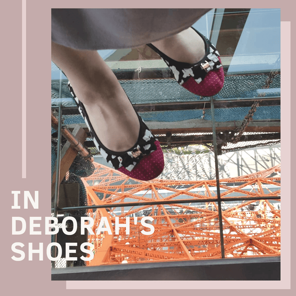 In Deborah's Shoes | In Your Shoes by Cocorose London