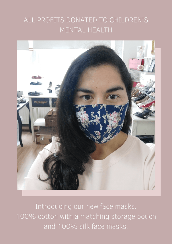Non-medical face masks | cotton and silk face masks and face coverings | Filter Pockets