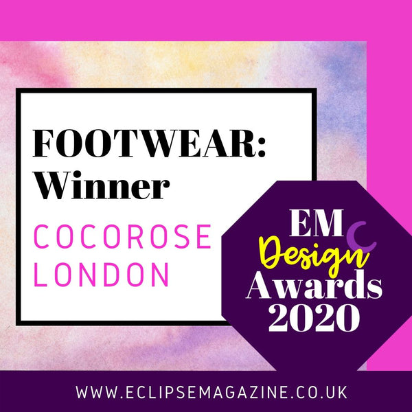 EM Design Awards 2020 | Cocorose Win Footwear Category