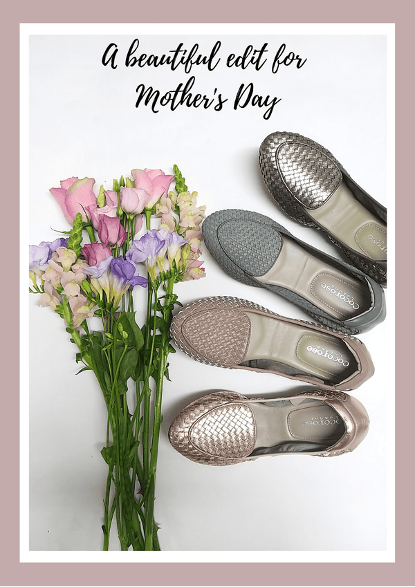 Mother's Day Edit | Beautiful and practical foldable shoes for beautiful mums