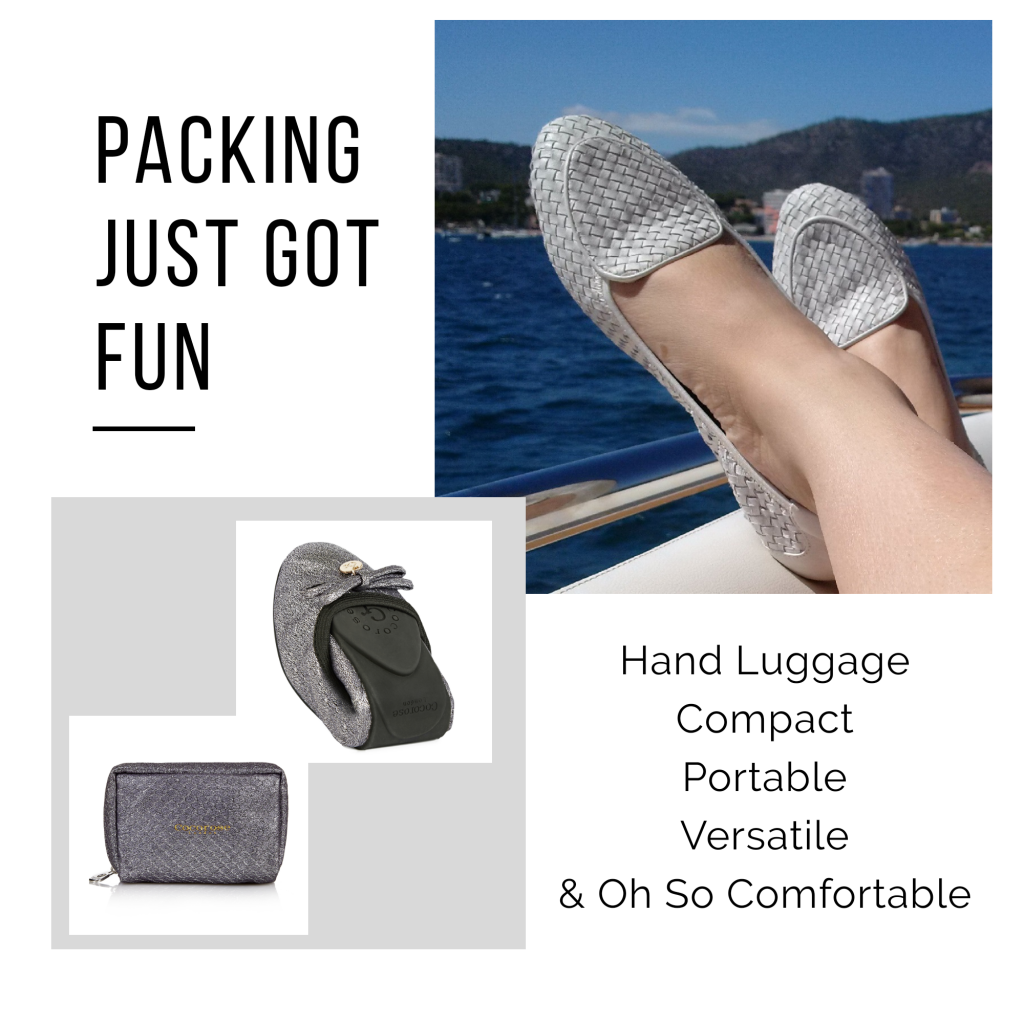How To Pack Shoes For Your Summer Holidays - Cocorose shoes are foldable, compact, lightweight, portable and versatile