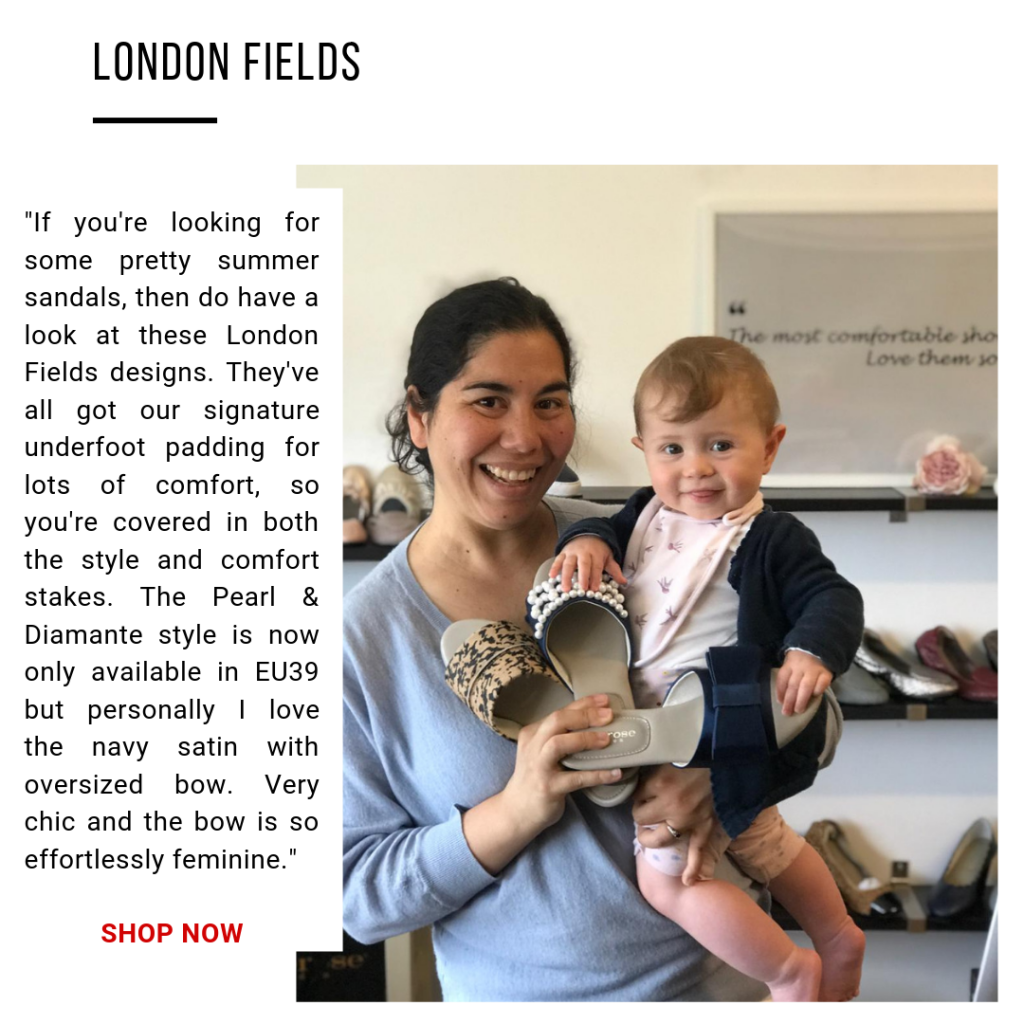 Cocorose London's Pretty and Comfortable London Fields Sandals and Slides