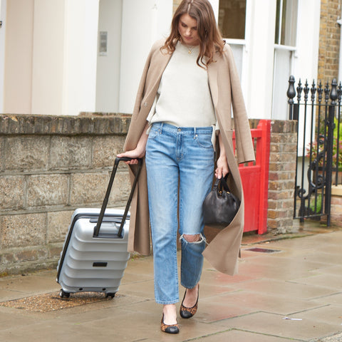 Packing light needn't be a chore with Cocorose London's wonderful collection of travel-friendly, portable and foldable shoes