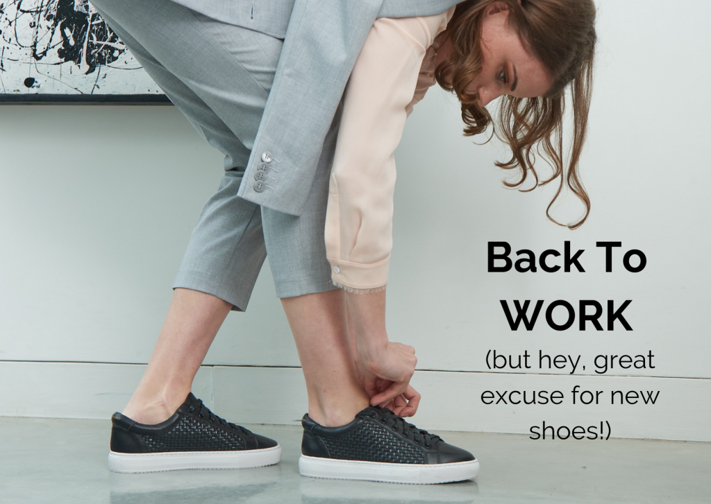 Cocorose London's Foldable Shoes, Leather Trainers and Sneakers and Leather Ankle Boots are Perfect for Going Back To Work