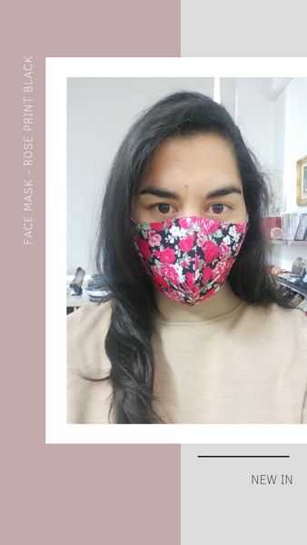 Quality cotton and silk face mask and face coverings | comfortable, breathable and lightweight