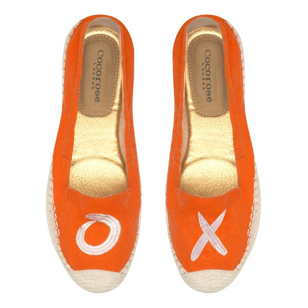Cocorose London Carnaby XO Foldable Espadrilles