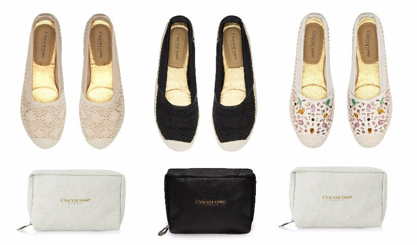 Cocorose London's Carnaby style foldable espadrilles