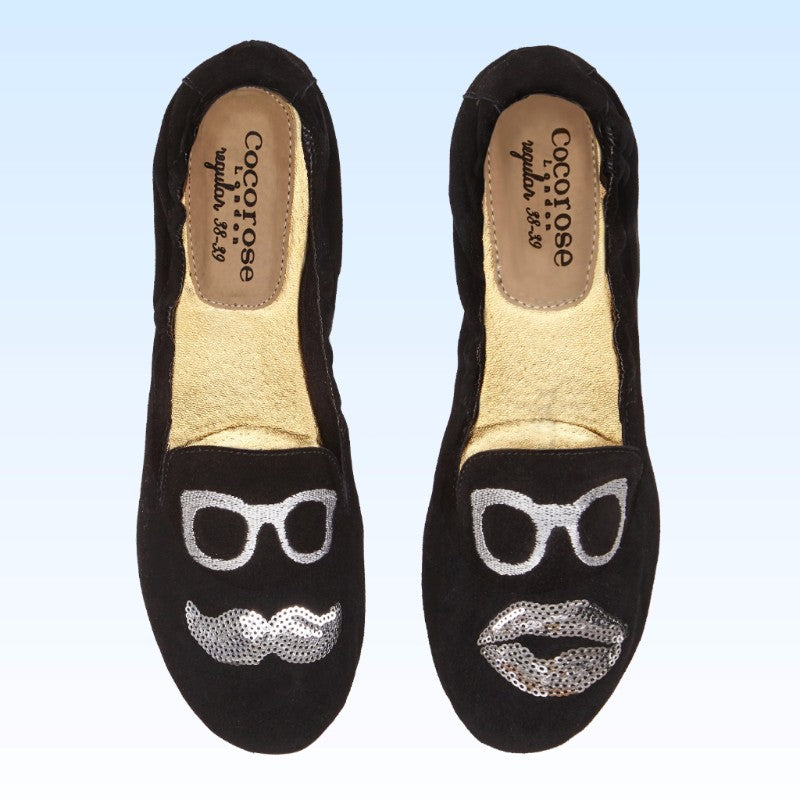 Carnaby Mr & Mrs Black Suede