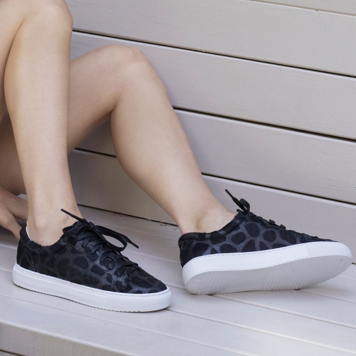Cocorose London Hoxton Leather Trainers and Sneakers
