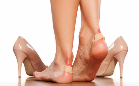 Ouch! Blisters caused by wearing high heels are all too common, hence we founded the day called Blister Friday
