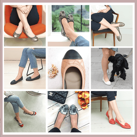Ballet pumps are back - A round up of the best and most comfortable ballet pumps
