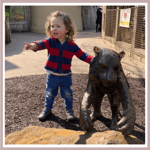 Elin Back at the ZSL London Zoo