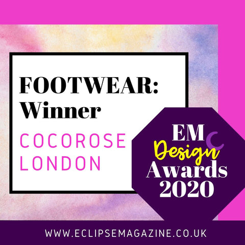 Eclipse Magazine Design Awards Footwear Winner