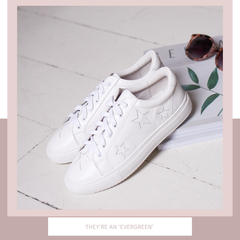 Trainers are the new power shoes | The all-white trainer
