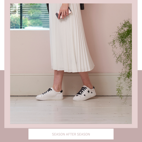 Modern Day Fashion | Trainers with Dresses | Designer Trainers