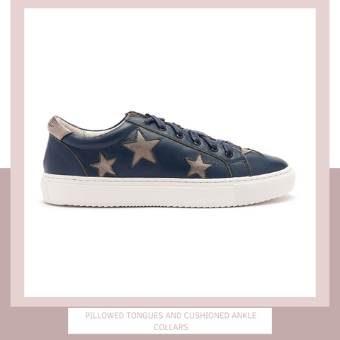 Cocorose Trainers | Navy Trainers | Star Trainers