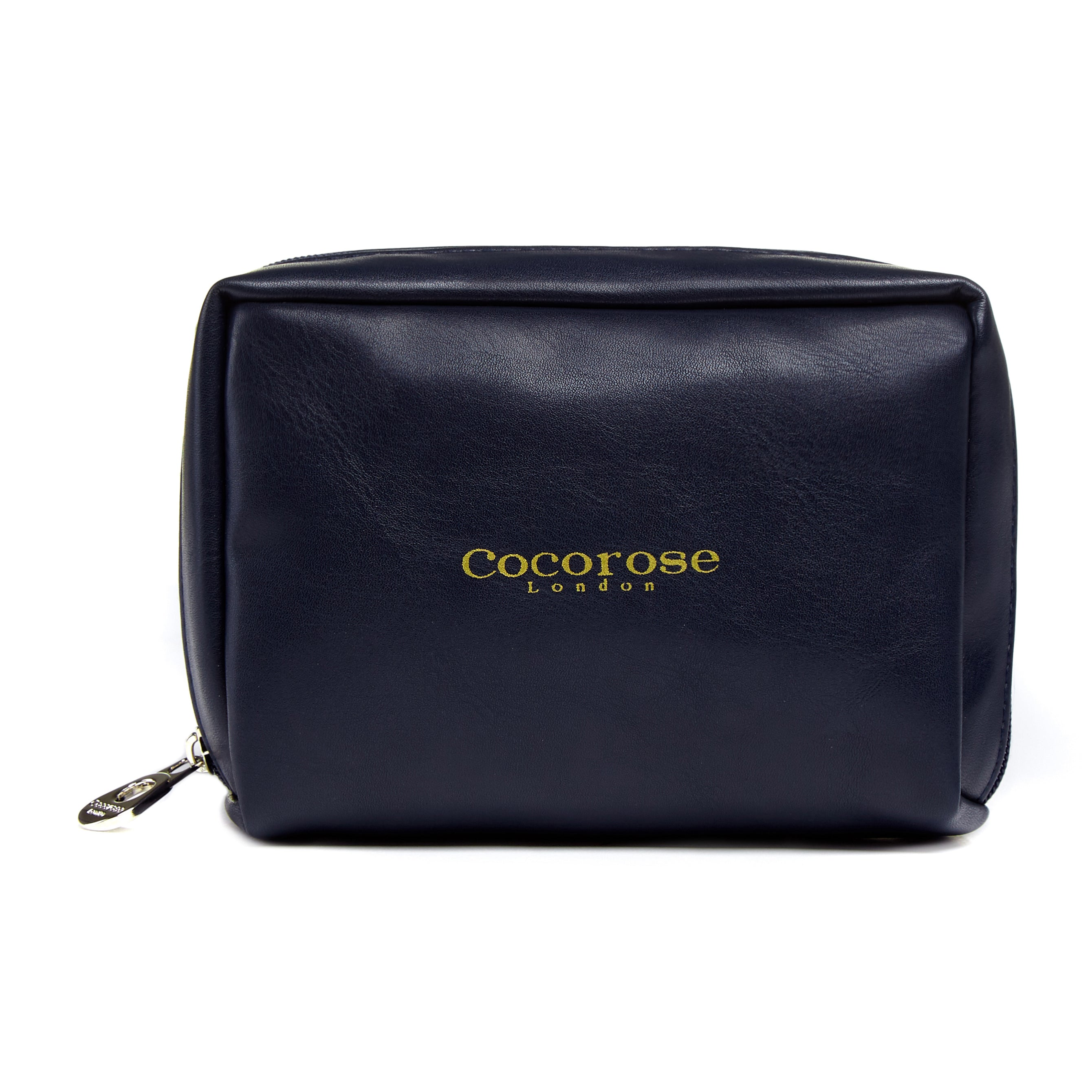 Cocorose London's Vegan Greenwich Style - Travel Purse for Navy Foldable Shoes