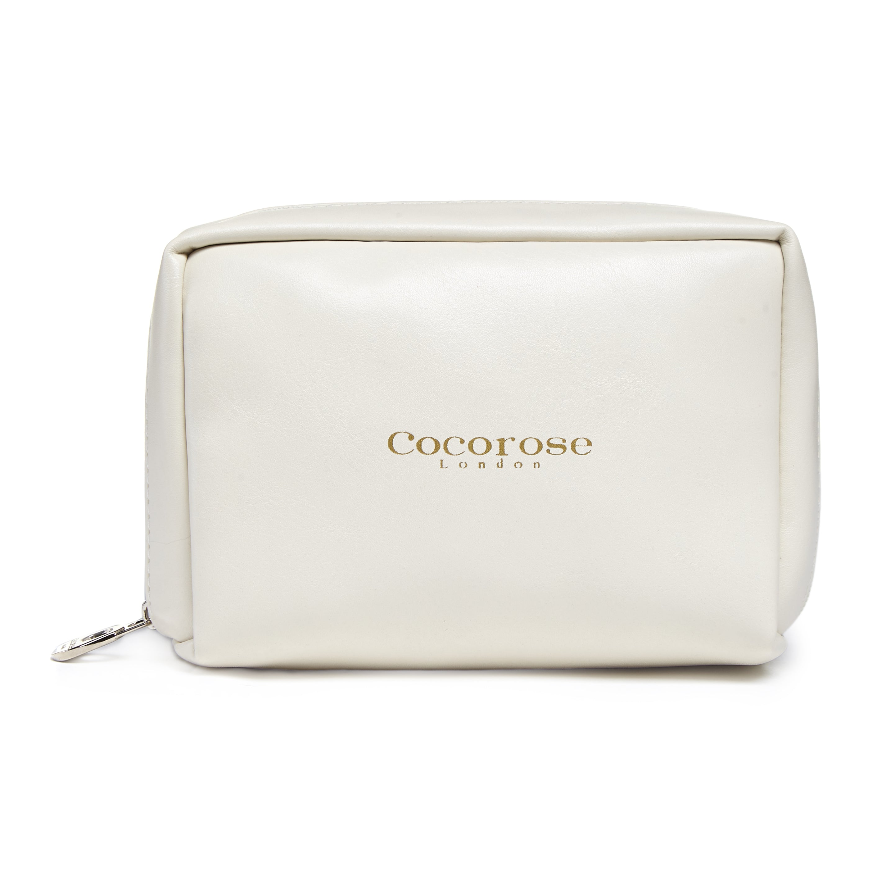 Cocorose London's Vegan Greenwich Style - Travel Purse for Ivory Foldable Shoes