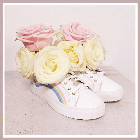 Spring Trainers - Rainbow Trainers - The Perfect Trainers and Sneakers