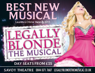 Team Cocorose went to see Legally Blonde the Musical at The Savoy Theatre
