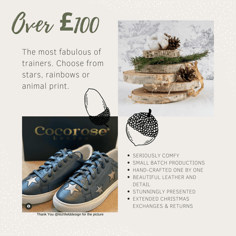 Last Minute Christmas Gifts Over £100 | The Best and Most Comfortable Trainers