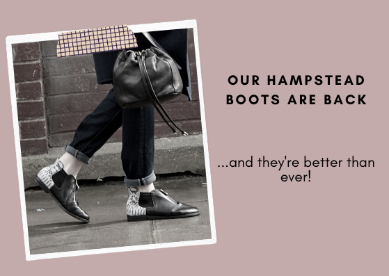 Cocorose London's Hampstead Boots are Back - Comfortable Ankle Boots