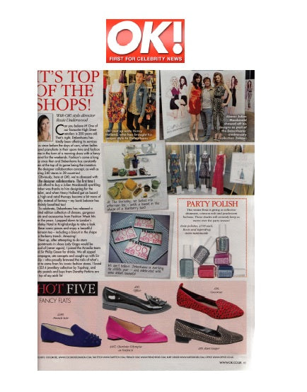 OK! Mag - 25th November 2013 - Farringdon Red