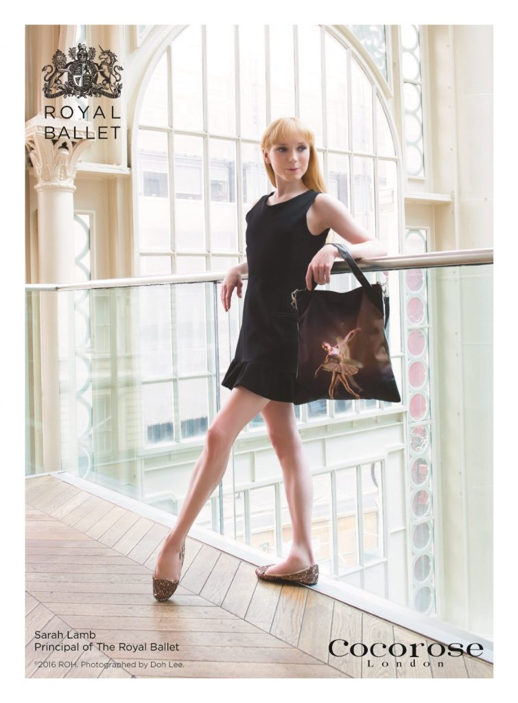 Sarah Lamb, Principal of The Royal Ballet, Models Cocorose London