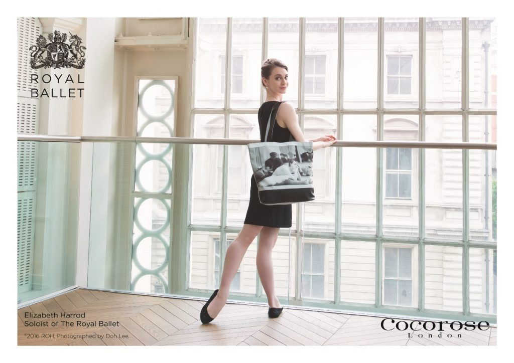 Elizabeth Harrod, Soloist of The Royal Ballet, Models Cocorose London