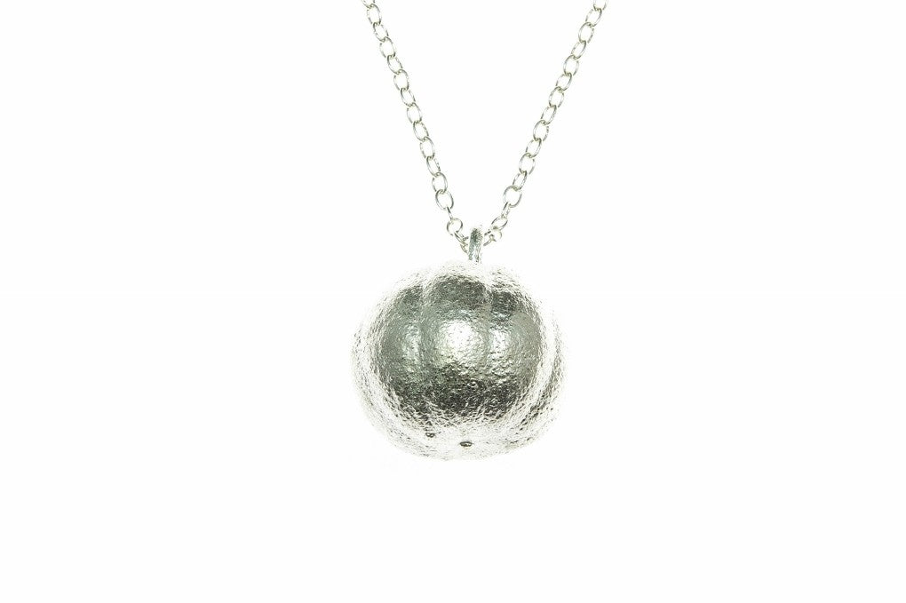 We absolutely love this real lemon pendant. Made with a real lemon dipped in fine silver.