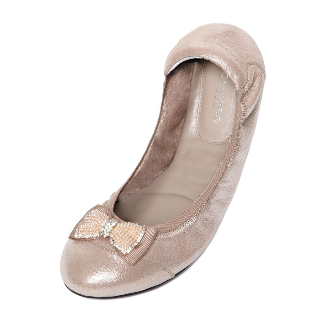 The Royal Ballet Clara CRRB07 Oyster with Pearl Bow