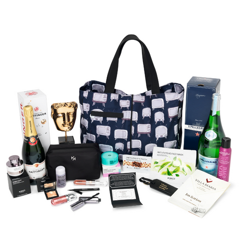 Cocorose London's Exclusive and Bespoke Nominee Gift Bag for the BAFTA TV Awards 2019