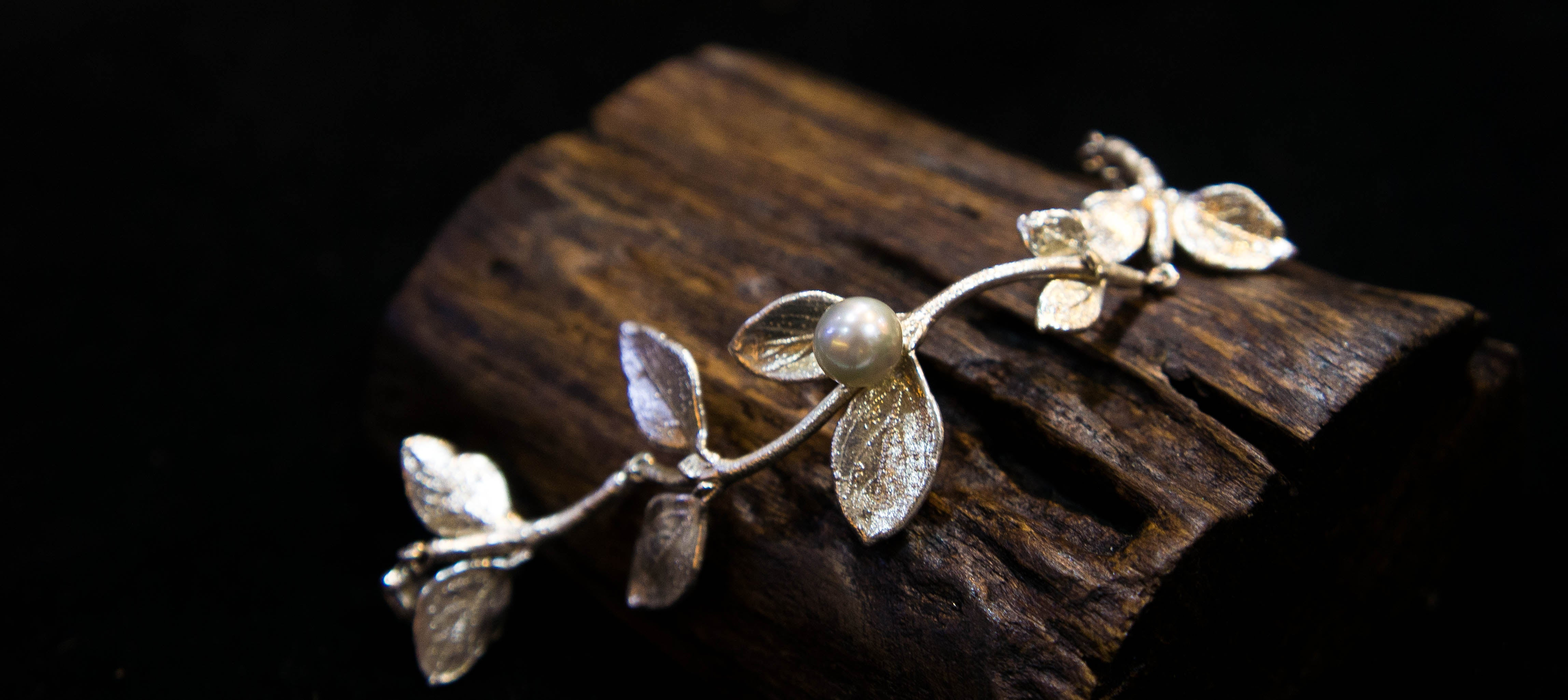 Exquisite jewellery by ROC. Nature to Treasure.