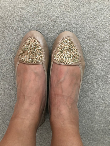 In Virginia's Shoes by Cocorose London | Comfotable flats for plantar fasciitis and problem feet
