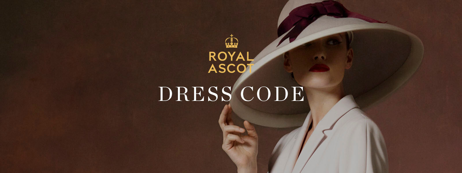 The races have strict dress rules to adhere to, so brush up on what you can and can't wear. Image from Royal Ascot.