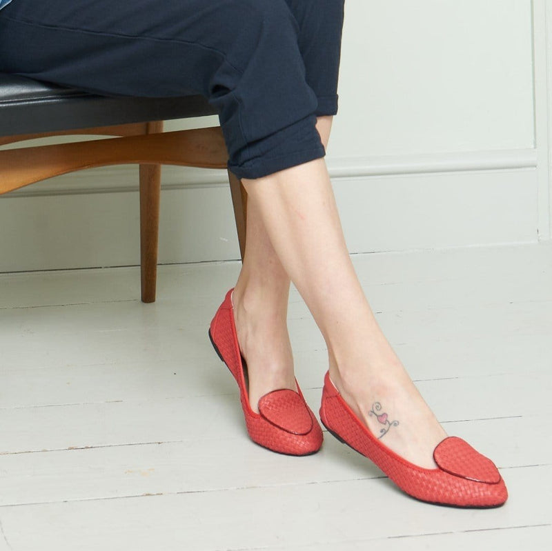 Clapham - Coral 2.0 Woven Leather EU39 Only