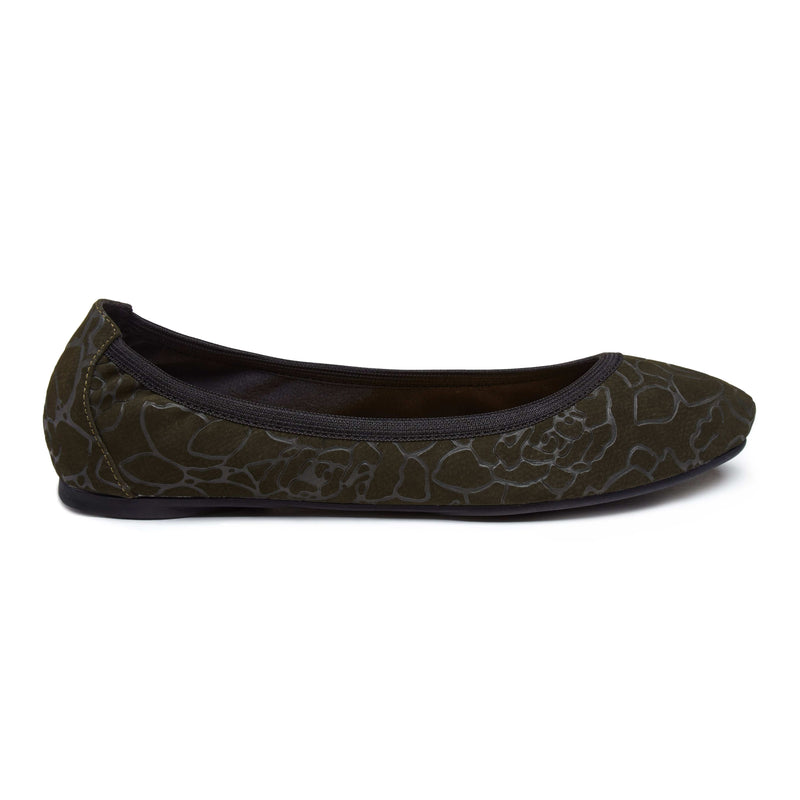 Angel - Olive Folding Ballet Flats EU36 Only