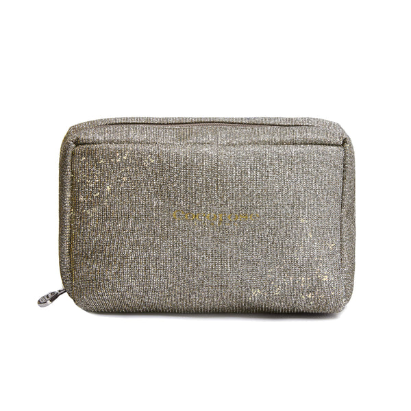 Desert Gold Sparkling Purse for foldup shoes