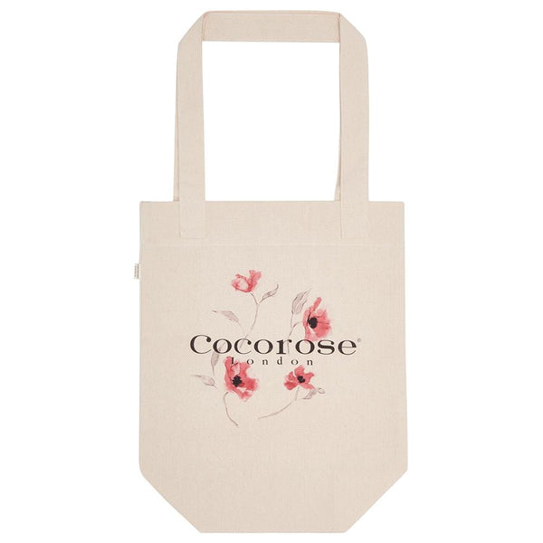 Cotton Canvas Shopping Tote Bag - Cocorose Cocorose London