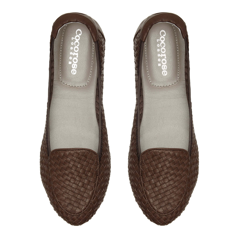 Clapham - Brown Woven Leather EU37 Only