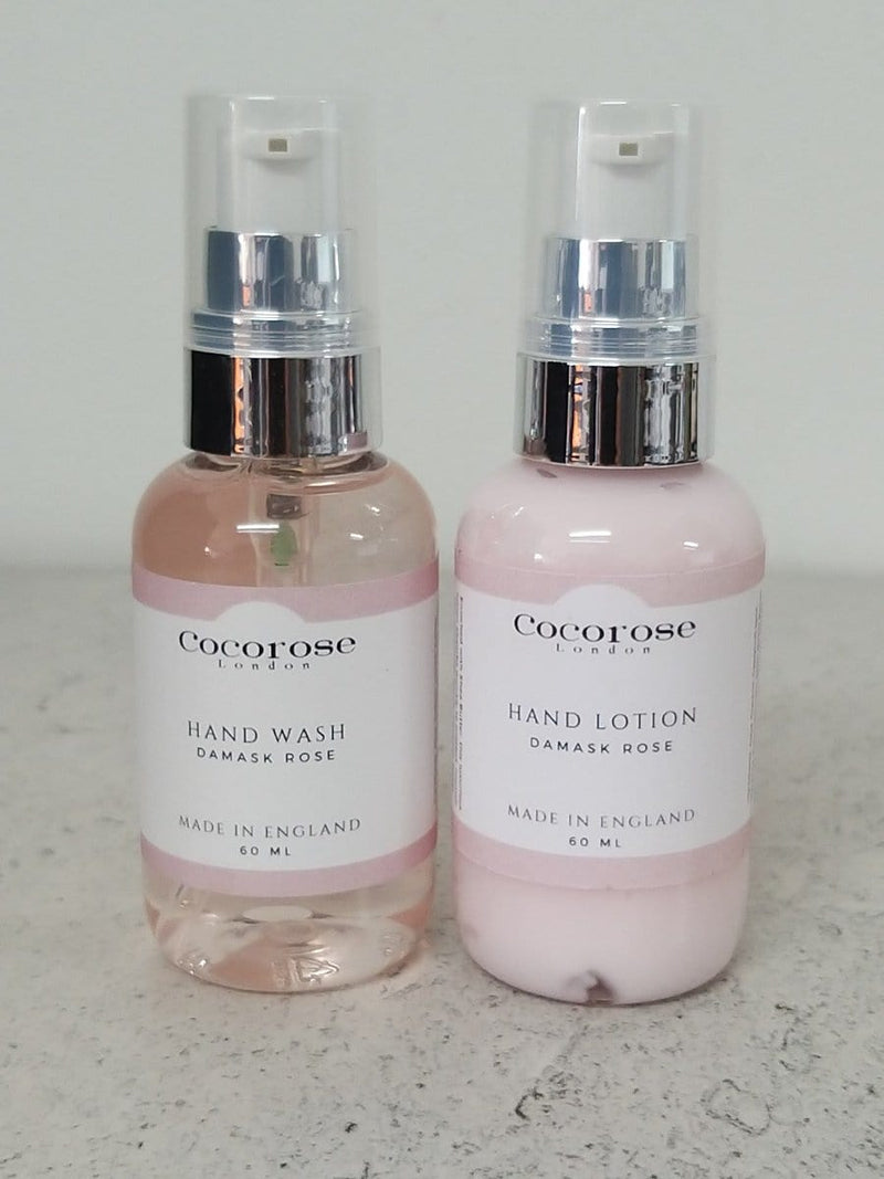 Hand Wash 60ml - Damask Rose