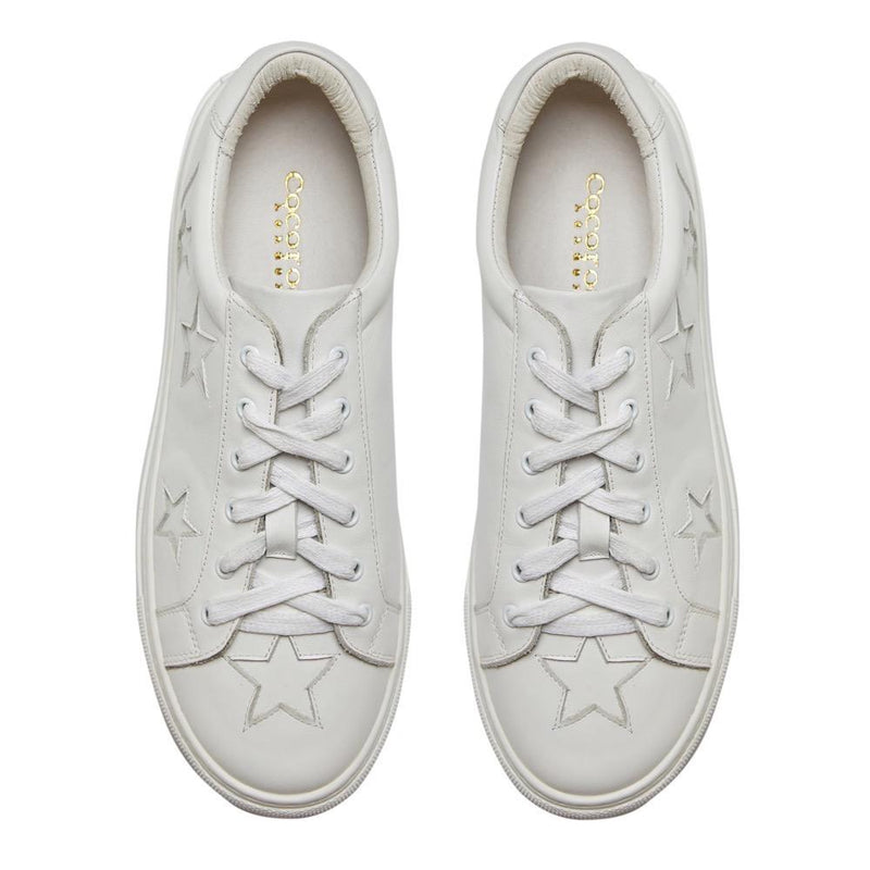 Cocorose London Hoxton White Star Trainers