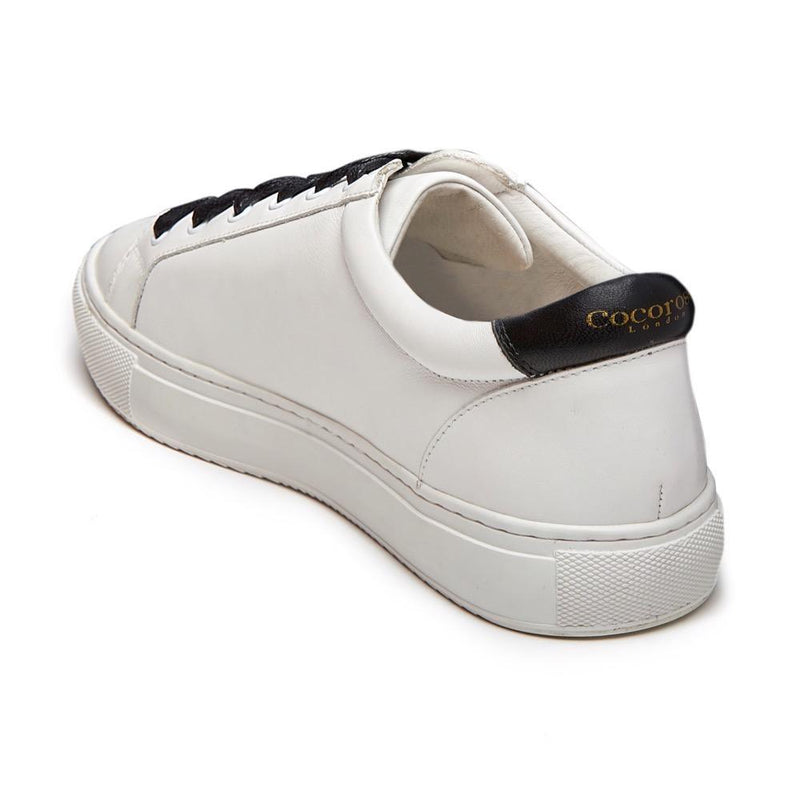 Cocorose London trainers and sneakers | stylish and comfy white leather designer trainers with stars