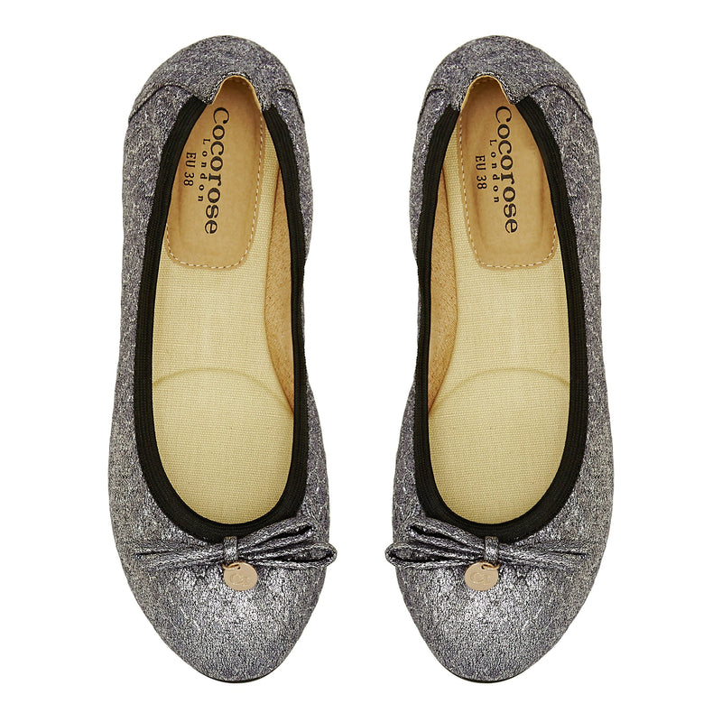 Paddington - Chrome Foldable Flats