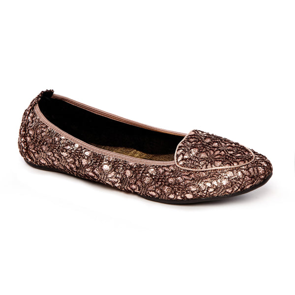 Juliet Pink Blush Foldable comfy Shoe
