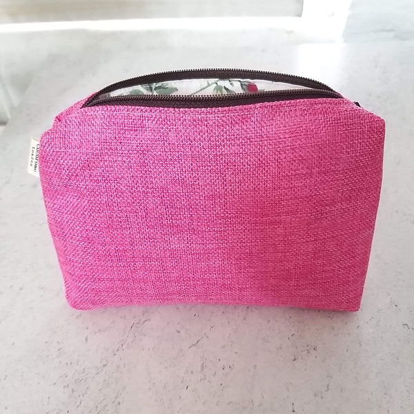 Zip Pouch - Pink