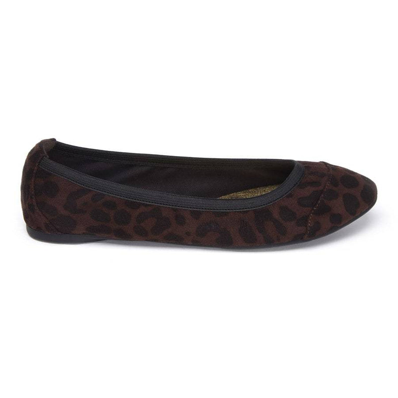 Roll Up shoe size UK3 in leopard