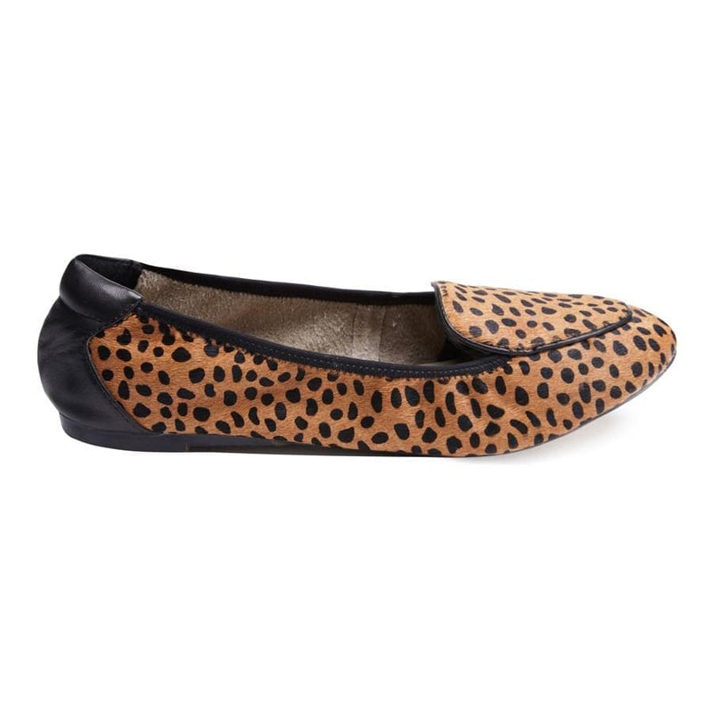 Clapham - Leopard Print Leather Loafers