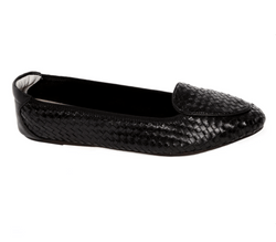 Clapham - Black Designer Loafers - Womens