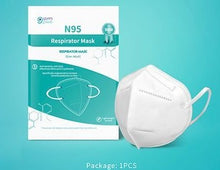Load image into Gallery viewer, N95 Face Mask 100 pcs box